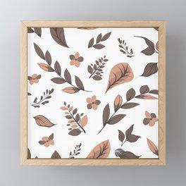 Flower Design Series 18 Framed Mini Art Print