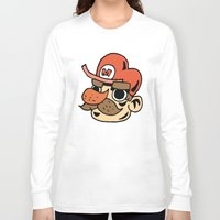 super mario Long Sleeve T-shirts featuring Super Mario by deozworld