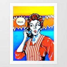 MOM Art Print