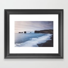 Dyrhólaey Framed Art Print