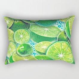 Lime Time Rectangular Pillow