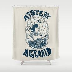 MYSTERY MERMAID Shower Curtain