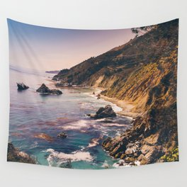 Big Sur Pacific Coast Highway Wall Tapestry