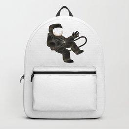 Zero Gravitation Astronaut Pose Backpack