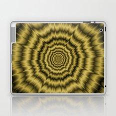 Eye Boggling Explosion in Gold Laptop & iPad Skin