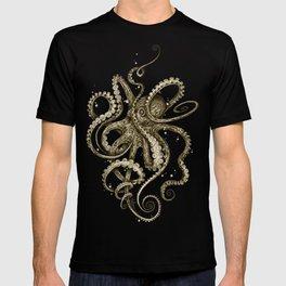 Octopsychedelia Sepia T-shirt