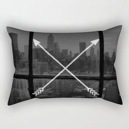 arrows in the city Rectangular Pillow