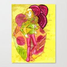 The King of Joy  Canvas Print