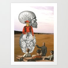 Free Your Mind, And Your Ass Will Follow Art Print
