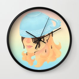 Coffee Wings Wall Clock