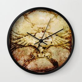 Sleeping Angel - Arts & Crafts Wall Clock