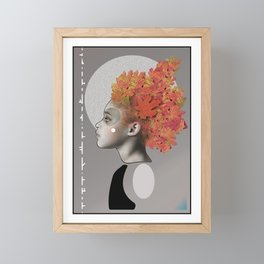 Autumn emotions Framed Mini Art Print