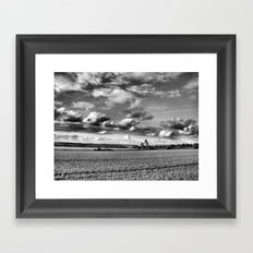 Cathedral of Agriculture. Framed Art Print
