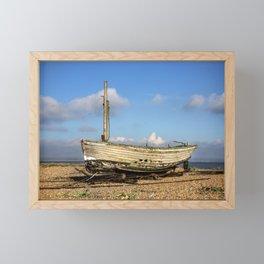 Fishing Boat Framed Mini Art Print