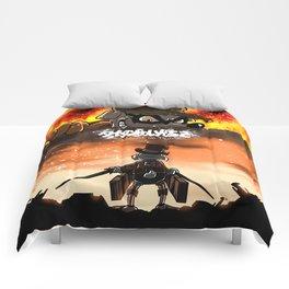 A Quack on Titan Comforters