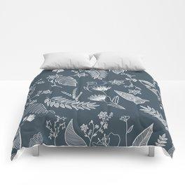 Flower Jungle Comforters