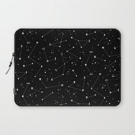 Constellations (Black) Laptop Sleeve