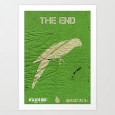 The Cobra Unit - The End Art Print