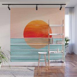 Minimalist Sunset III Wall Mural
