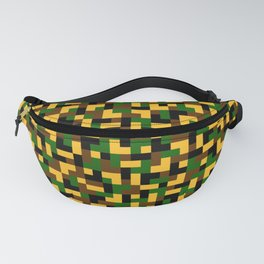 Color camouflage Fanny Pack