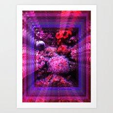 8Ft under the sea Art Print