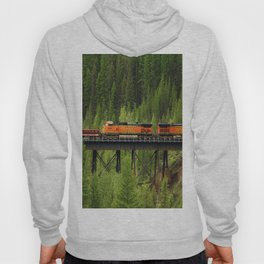 BNSF Going Over Goat Lick Creek Hoody