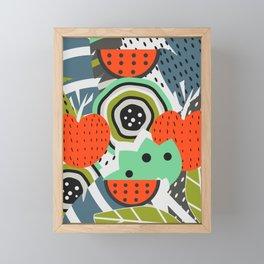 Fruity abstraction Framed Mini Art Print