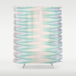 Melted Ice Cream Shower Curtain