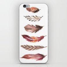 Bohemian Feathers iPhone & iPod Skin