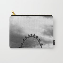 Back Side of the Link // London Eye Replica in Las Vegas Nevada City Strip Raw Landscape Carry-All Pouch