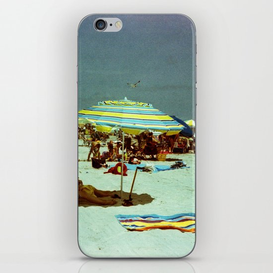 Beach, Wildwood, New Jersey iPhone & iPod Skin