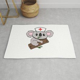 """Don't Worry I' A Koalafied Nurse"" Hospital Nice Marriage Shirt For Doctors T-shirt Design Syringe Rug"