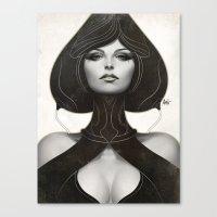 artgerm Canvas Prints featuring Pepper Spade by Artgerm™