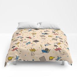 Memphis Inspired Pattern 9 Comforters