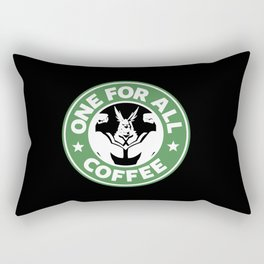 One For All Coffee Rectangular Pillow