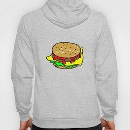 Cheeseburger Doodle Hoody