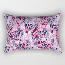 Floral meadow Rectangular Pillow