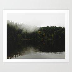 Battle Ground Lake Art Print
