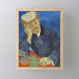 Vincent van Gogh - Dr Paul Gachet Framed Mini Art Print