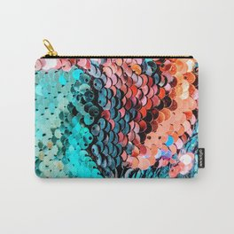 Sequin Carry-All Pouch