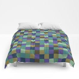 Blu Grid Comforters