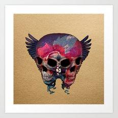The Falling Art Print