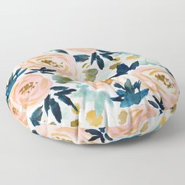 BIG NEWS Bold Floral Floor Pillow