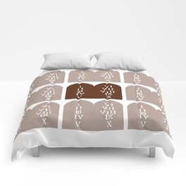 Ten Commandments Comforters