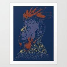 Hitch-Cock! Art Print