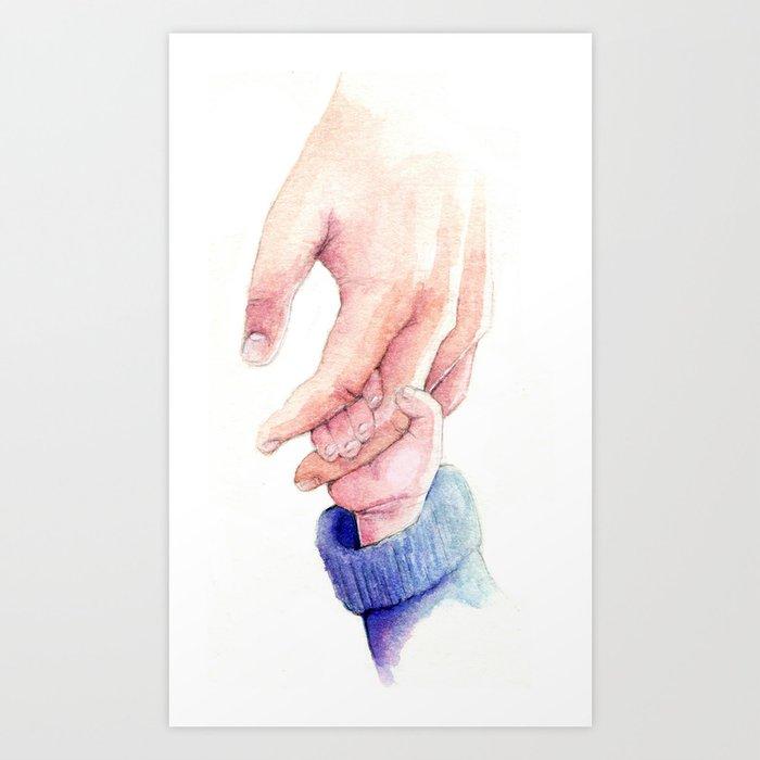 Parent and Child Art Print
