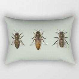 Honey Bee Family Rectangular Pillow