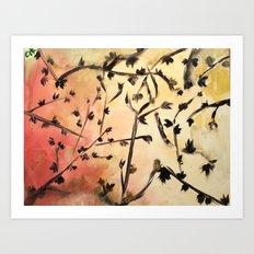 Look Up Nature Abstract 1 Art Print