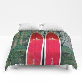 Vintage Skis - Fischer Alu Comforters