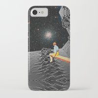 iPhone Cases featuring unknown pleasures to Infinity by Mariano Peccinetti